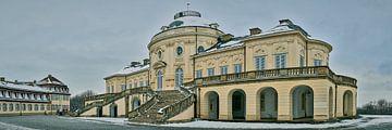 Schloss Solitude im Schnee von Keith Wilson Photography
