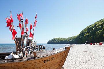 Fischerboot am Strand , Binz auf Rügen, Insel Rügen von Torsten Krüger