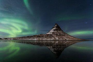 Kirkjufellsfoss IJsland van Luc Buthker