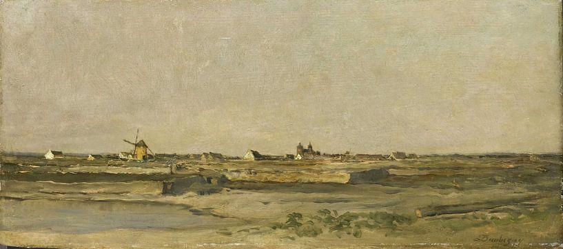 Landschaft, Charles-François Daubigny von Meesterlijcke Meesters