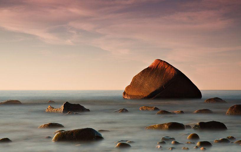 Der Schwanenstein bei Lohme auf der Insel Rügen von Rico Ködder