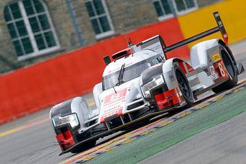 Audi R18 Le Mans race auto van Sjoerd van der Wal
