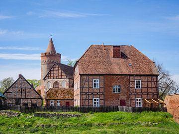 Bekijk het kasteel Stargard bij Neustrelitz in Neubrandenburg van Animaflora PicsStock