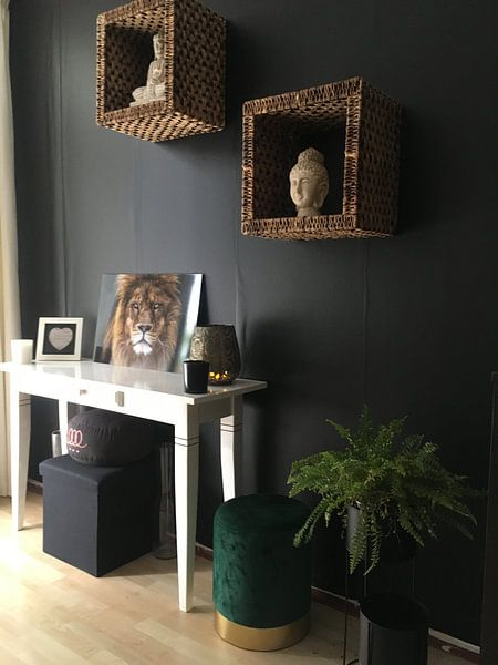 Kundenfoto: Der wütende Löwe sieht mich an von Nathalie Peters Koopmans