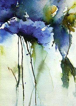 Blue floral van annemiek groenhout