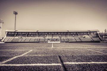 RAFC Football Stadium Tribune Antwerpen von Sophie Wils