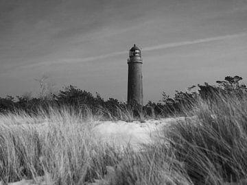 Darßer Ort Lighthouse van Jörg Hausmann