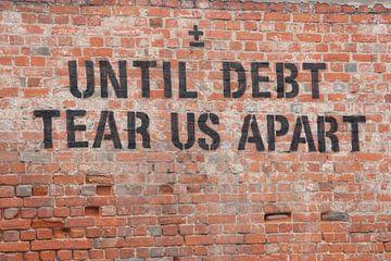 Until Debt Tear Us Apart van Silco Saaman