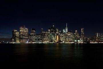 Skyline von Manhattan von Irene Lantman