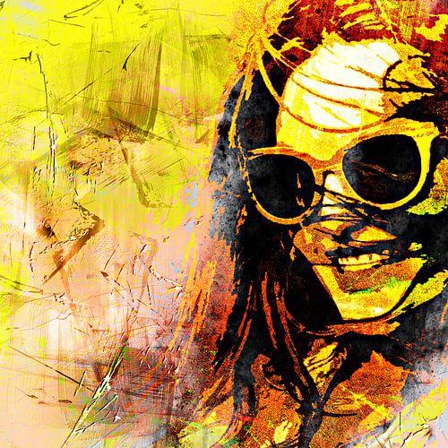 In sunny California van PictureWork - Digital artist