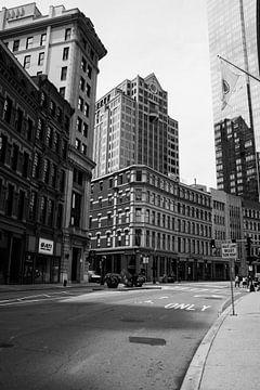 Straßenansicht, Boston von Nynke Altenburg