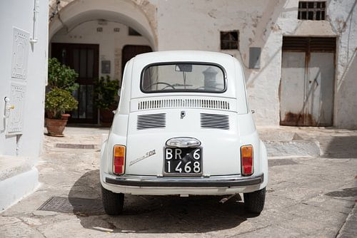 Fiat 500 in kleur | Italië | Reisfotografie fine art