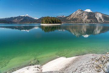 Walchensee Bayern von Peter Schickert
