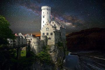Het kasteel lichtenstein van H.m. Soetens
