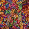 geometrische vormen wandkunst voor uw interieur van EL QOCH thumbnail