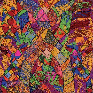 Geometrische Formen Wandkunst für Ihre Raumgestaltung von EL QOCH