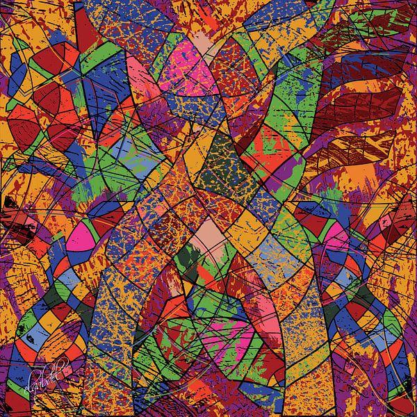 geometrische vormen wandkunst voor uw interieur van EL QOCH