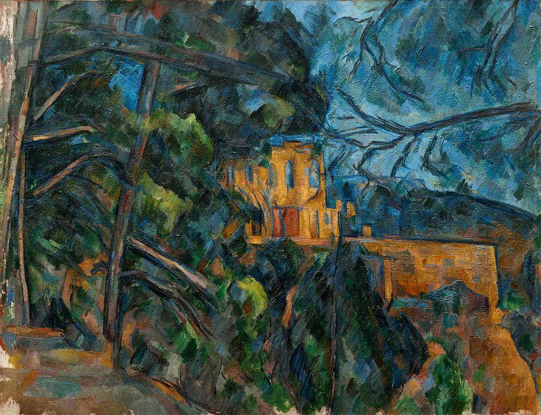 Paul Cézanne, Château Noir (ca. 1900-1904) von Atelier Liesjes