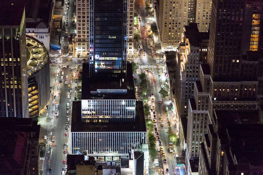Streets of New York City van Robert Lambrix
