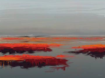 Zen-Meer. von SydWyn Art