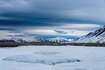Spitsbergen landschap van Merijn Loch