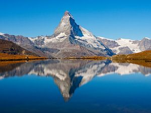 Matterhorn Stellisee van