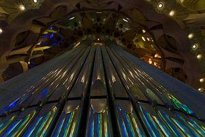 Prachtige Sagrada Familia Orgel