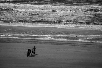 Wandelaars, Zandvoort. van BSO Fotografie