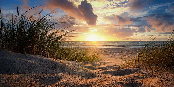 Sonnenuntergang an der Ostsee van Steffen Gierok