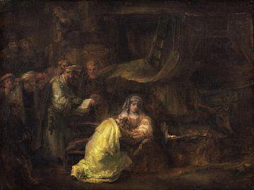La circoncision, Rembrandt sur