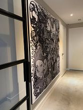 Kundenfoto: Herman Brood Musterkarte von Henk van Os, als akustikbild