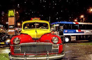 Yellow Cab, Taxi, DeSoto Chrysler van Hans Levendig