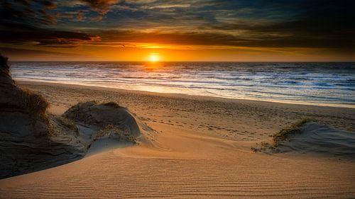 Kustlijn met duin en strand