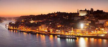 Porto bei Sonnenuntergang, Portugal von Markus Lange