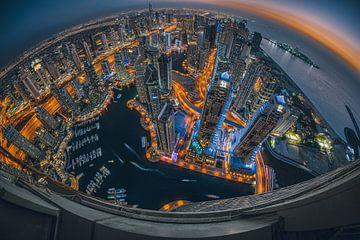 Jachthaven van Dubai van Stefan Schäfer