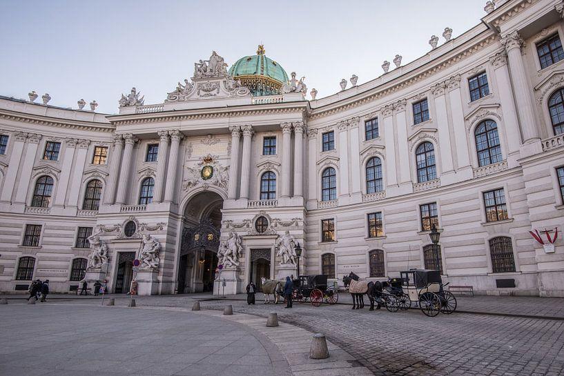 Paardenkoets in Wenen van Ronne Vinkx