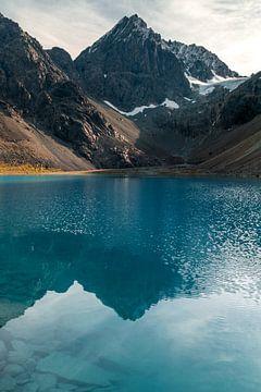 Der blaue See. von Axel Weidner