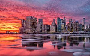 New York, Manhattan  van
