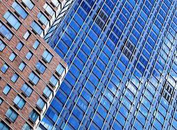 Moderne zigzag in architectuur van Sigrid Klop
