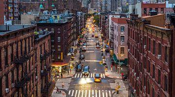 Chinatown in Manhattan,New York. van Ruurd Dankloff