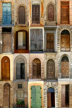 deuren, deuren...nog meer deuren van Hanneke Bantje