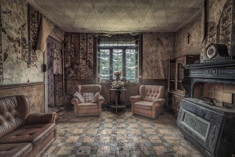 Wohnraum einer kleinen Farm von Monodio Photography
