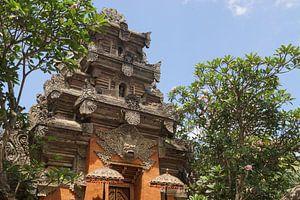 Kleurrijke tempel op Bali