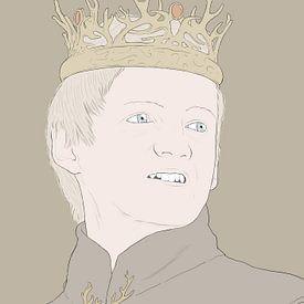 king joffrey game of thrones van poportret posters