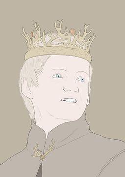 king joffrey game of thrones von poportret posters