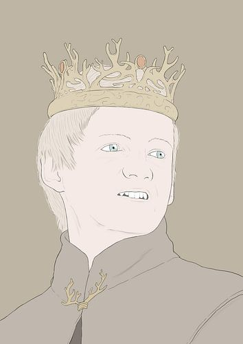 king joffrey game of thrones van