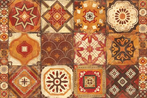 Marokkaanse tegels specerijen, Cleonique Hilsaca