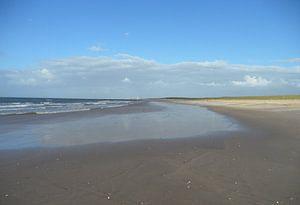 Einsamer Strand   van