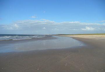 Einsamer Strand   von Peter Norden