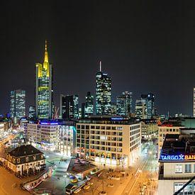 Frankfurt, skyline van Sjoerd Mouissie